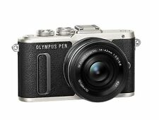 Olympus PEN E-PL8 Mirrorless Camera in Black with 14-42mm EZ Lens
