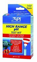 API High Range pH Test Kit Freshwater and Saltwater Marine Aquarium 160 Tests