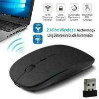 UK 2.4 GHz Wireless Cordless Mouse USB Optical Scroll For PC Laptop Computer NEW