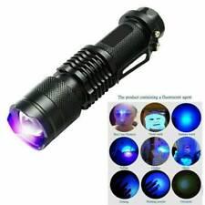 UV Ultra Violet 9 LED Flashlight Blacklight Light 395 nM Inspection Lamp Torch