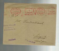 1925 Graz Austria Meter cover rare