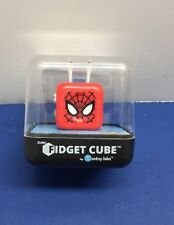 100% Fidget cube spider~man And Nano MetalFigs Marvels Spiderman !! NIP!!!