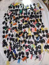 Lot Of 140 Car Key Remote Fobs, Dodge, Ram, Ford, Mazda, Lincoln Car Keys