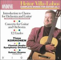 Heitor Villa-Lobos: Complete Works for Guitar, Vol. 1 (CD, Aug-1995, Ondine)