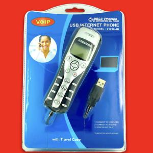 Northwestern Bell VOIP USB Internet TRAVEL PHONE Skype MSN Messenger Case NEW