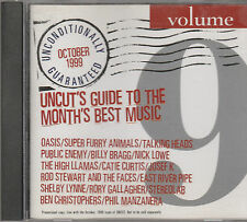 Uncut CD-Oasis/Super Furry Animals/Talking Heads/Public Enemy/Rod Stewart/Faces
