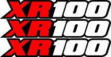 XR100 BASCULANTE Airbox Número De Placa Pegatinas XR 100 MOTO CROSS Gráficos