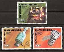 Central Africa # C135 -7 Used Apollo Soyuz Space Flight