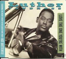 LUTHER VANDROSS Love One w/ LIVE TRK CD DUET MARTHA WASH Gregg Diamond SEALED