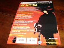JOE SATRIANI !!!!!!!!!!!!!!!!!!!!!RARE FRENCH PRESS/KIT