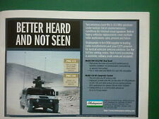 8/06 PUB SHAKESPEARE ELECTRONIC PRC-117 150 ANTENNA US ARMY HUMMER ANTENNE AD