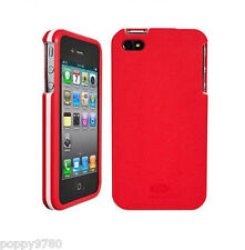 AGF Beetle Lightweight Shell Cover Case iPhone 4/4S - Retail Packaging Red/White