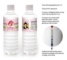 10 Strawberry Shortcake Birthday Party Personalized Water Bottle Labels