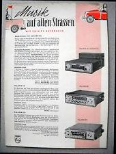 Philips Autoradio Werbung Ausgabe 01/58