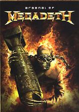 Megadeth - Arsenal of Megadeth (DVD, 2006, 2-Disc Set)(2xDVD-V, PAL)