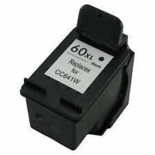HP 60XL Black CC641W Reman Ink Cart 33% More Ink D2500 D2530 F4230 F4235 F4250