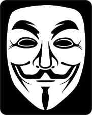 ANONYMOUS OCCUPY CAMPER  CAR WINDOW BUMPER SCOOTER STICKER DECAL