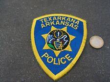 PATCH POLICE ECUSSON COLLECTION  USA   police  arkansas