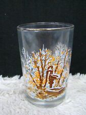 """1985 Arctic Circle H. Frances Sellers 4.75"""" Collectible Home Drinking Glass"""