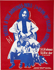 """Derek and the Dominos 1970 16"""" x 12"""" Photo Repro Concert Poster"""