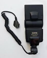 SUNPAK POWER ZOOM 4000AF Flash with Cable in Excellent condition.