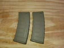 Airsoft AEG Parts - Mid Cap Magazines - PTS - Set of 2 - AIRSOFT ONLY