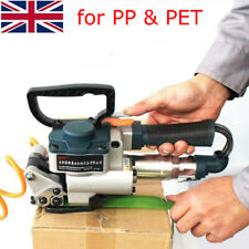 More details for protable handheld pneumatic strapping tool strap welding banding packaging baler