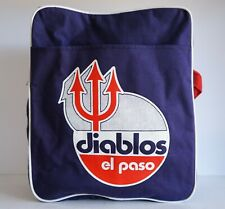 Vintage El Paso Diablos Minor League Baseball Totebag Bag Peyton Hot Dogs TEXAS