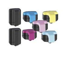 7 Pk HP02 Ink Cartridges Refurbished for HP Printers C5140 C5150 C5180 C6150