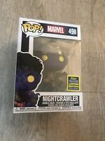 Funko Pop! Marvel Nightcrawler Sdcc 2020 Exclusive Xmen #490 Mint And New