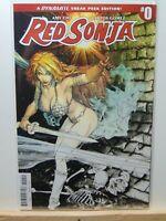 Red Sonja #0  Variant Cover Sketch Black & White  Dynamite Comics CB7957