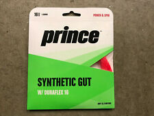 PRINCE SYNTHETIC GUT 16 with DURAFLEX Red 16 Gauge 40ft 12.2M STRING