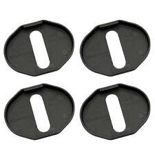 4Pcs Fit for 2004~2012 M6/MX- 5 Car Door Lock Protective Cover Plastic Black New