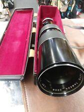 Tamron AUTO ZOOM 200-500mm SL39.3 JAPAN Lens, Cameras