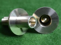 BRASS JOINT SET FOR 3/4 JOINTED POOL SNOOKER CUE QUICK RELEASE