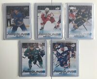 2019 - 2020 Upper Deck Series 2 Hockey YOUNG GUNS LOT (5 Cards)