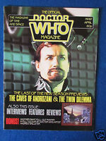 Doctor Who Monthly Magazine - April 1984 - Issue 87