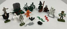 Miscellaneous Miniature Halloween Figures, Some Lego, Suitable for Train Display