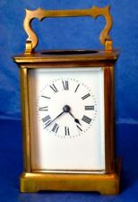 Authentic Antique Carriage Clock, French R & Co Paris, ca.1890