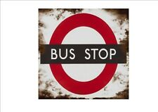 Vintage Style Bus Stop Sign  Retro Style Sign Kitchen Sign Coach Bus Stop Sign