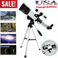 US Kids Space Astronomical Telescope Refractive Eyepieces Tripod Monocular Scope