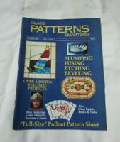 Glass Patterns Quarterly SUMMER 1986 VOL.2 NO.2 Slumping Fusing Etching Beveling