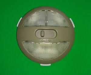 OEM Chevrolet Malibu HHR Cobalt Pontiac G6 Dome Light Assembly Tan 15139343