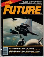 Future Magazine April 1978 Premiere Issue #1  Star Wars Fred Pohl Isaac Asimov