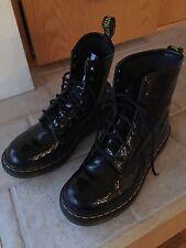 Doc Martens BOOTS, 8 hole, patent leather, black