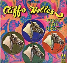 """CLIFF NOBLES """"PONY THE HORSE"""" DOO WOP 60'S LP MOONSHOT 601 STEREO"""