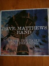 """Dave Matthews """"Under The Table And Dreaming"""" colored-plastic promo piece Ex-Nm"""