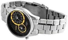 Akzent polierte Quarz - (Batterie) Armbanduhren aus Edelstahl