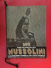 Calendario Mussolini 2020.Calendario Mussolini In Vendita Saggistica Ebay