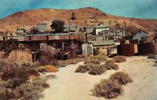 ROSAMOND, CA California    TROPICO GOLD MINE~Mojave Desert    Chrome Postcard